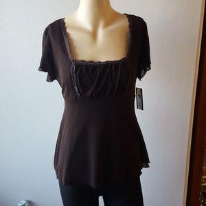 Nwt AB Studio size large women's blouse
